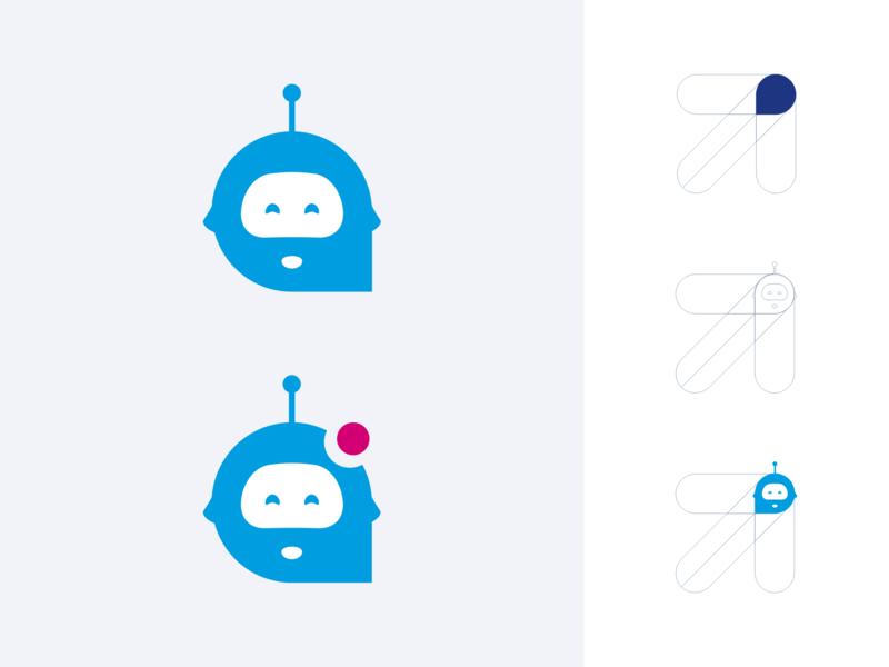Eliott eliott boursorama contact help brand identity bank icon bot chat notification chatbot illustration branding