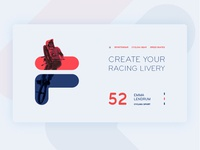 fila sports website design