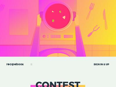 Recipebook.io Web Design