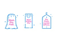 Laundry bags_icons
