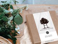 Holistic House Copenhagen Packaging re-design 2018