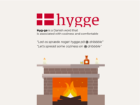 Let's spread some 'hygge' on dribbble