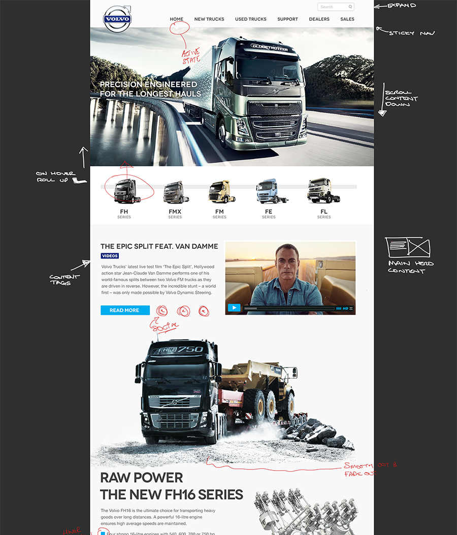dealers parts and west service volvo trucks wales