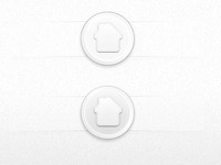 Rounded Home Button
