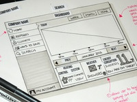 Wireframe For iPad App