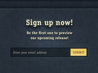 Signup Shadow