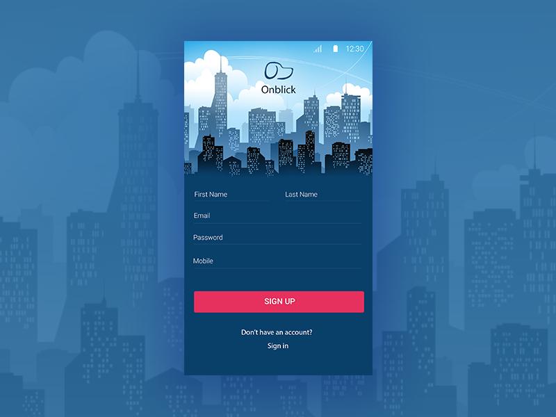 Login interface login android