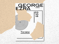 George Ezra - concert promo / Warsaw