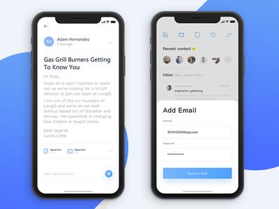 Inbox Mobile-2 message interface inbox email desktop conversation cloud app
