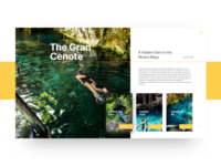 The Gran Cenote - Holidays Coming!
