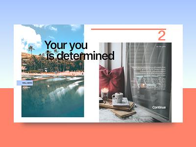 Lifezine - You determined app ux ui blog magazine site web design menu post typography contrast