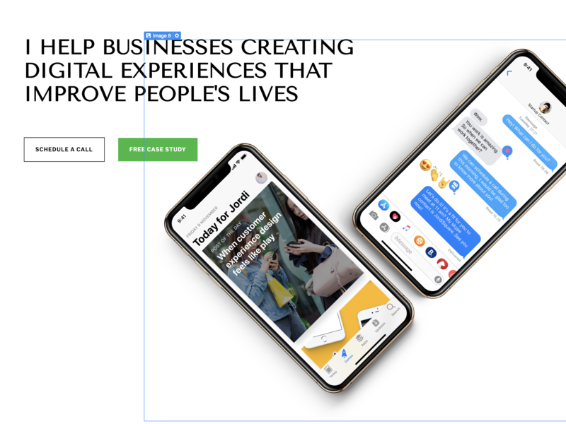 jordisquare.com Restyle Coming soon! 🤟 blog service design personal page freelance strategy brand page minimal layout typography dribbble app ios design ux ui
