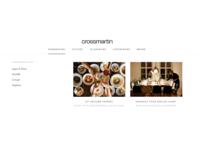 Crossmartin - Hover menu