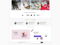 Draft Version Stickers E-commerce Home