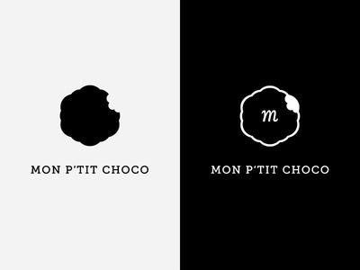Mon P'tit Choco logo iterations