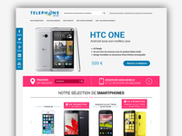 Telephone Store Homepage