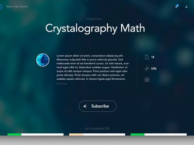 Brainstorming platform - WIP ui blur fullscreen minimal design web subscribe