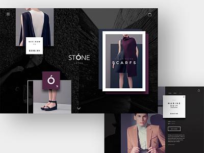 STÓNE theme theme shopify stone japan fashion minimal eshop design web