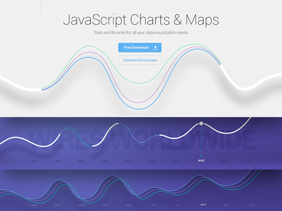 Wire Chart / WIP chart infographic wires line data ui design