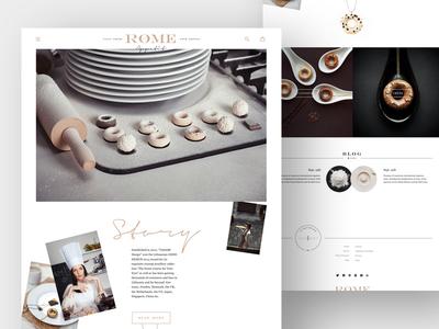 RØME Theme shopify theme design web eshop