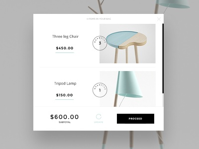 Shopping cart ecommerce shopify cart shoping basket proceed design ui theme