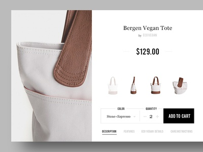 Quick Buy ecommerce shopify cart shopping basket proceed design ui quick buy