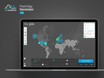 Pixelmap for amCharts png svg design generator ui amcharts map pixel