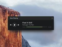 Spotify Mini Player Concept