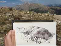 Mountain Sketch 2