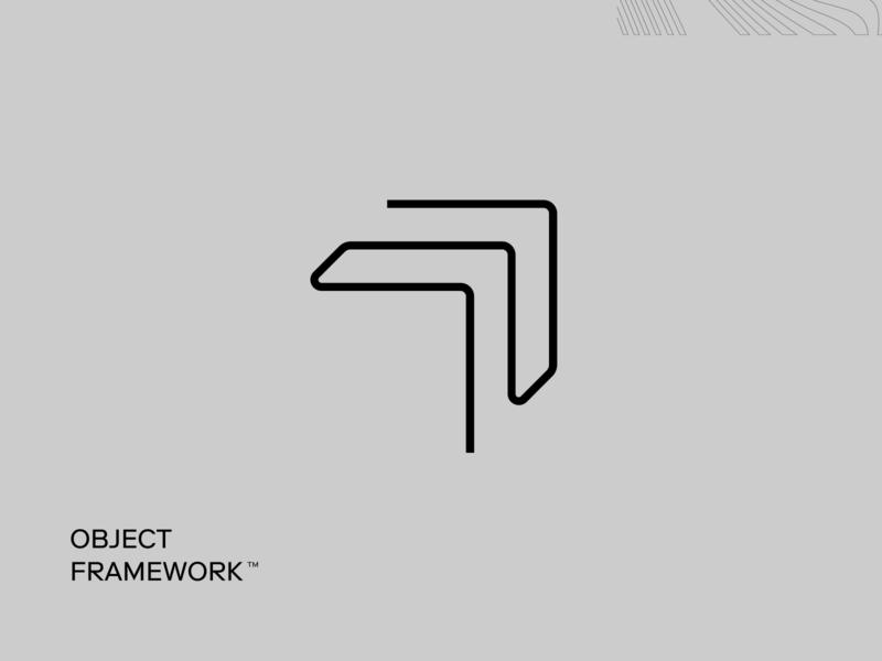 Logo Mark flat typography logo arrow mark identity vector minimal branding visual design
