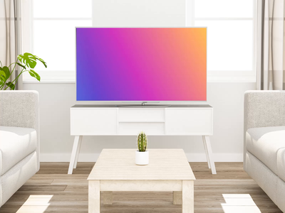Buying Movie Tickets - Fire TV App yellow blue blue to yellow gradients simple voice assistant voice app ui ux