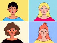 Girls, girls, girls.