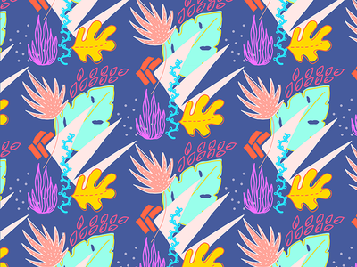 Tropical Dream Pattern