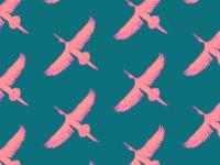 Flying Herons