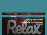 Runpath website design