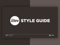 Love Incorporated Styleguide