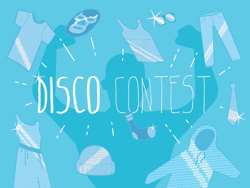 Disco Contest! betabrand disco contest clothes fashion illustration illustrator