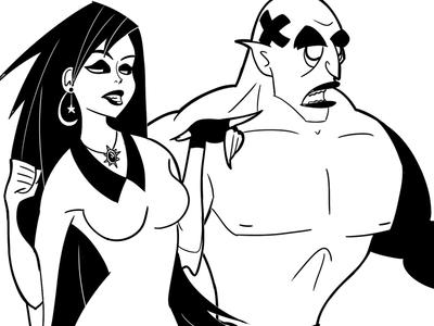 Villain and Henchman