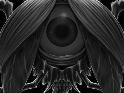 Stain! - Bad bug shirt tee design graphic tee graphic design sketchbookpro ipad pro illustration badbug evil monster brain bug beatle