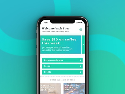Kaya Financial ios money bank iphone mobile financial app