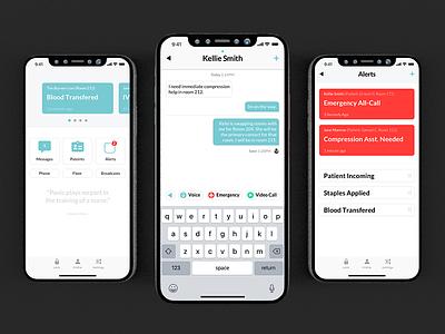 Athena⚕ ios nursing iphonex app
