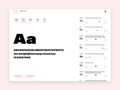 Make Any Font for designers font generator web app feedbackplease