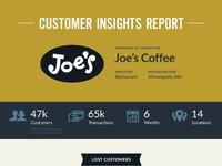 Customer insights report 3d