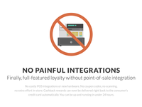 No painful integrations