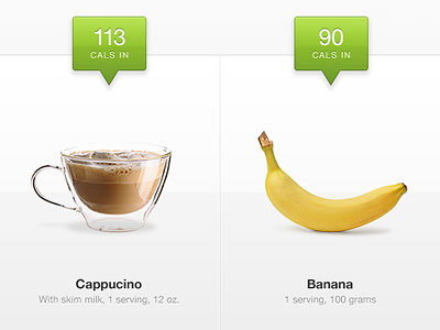 Calories In fitbit calories food health wellness photography white