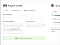 Payment Info