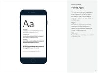 Brand Book: Typography: Mobile Apps