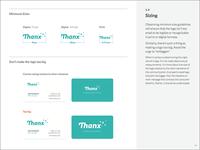 Brand Book: Logo Sizing