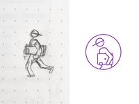 Laptop Thief Icon