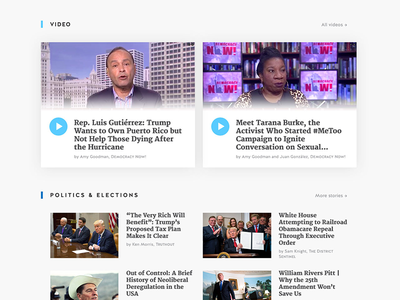 News website politics wordpress content web design news